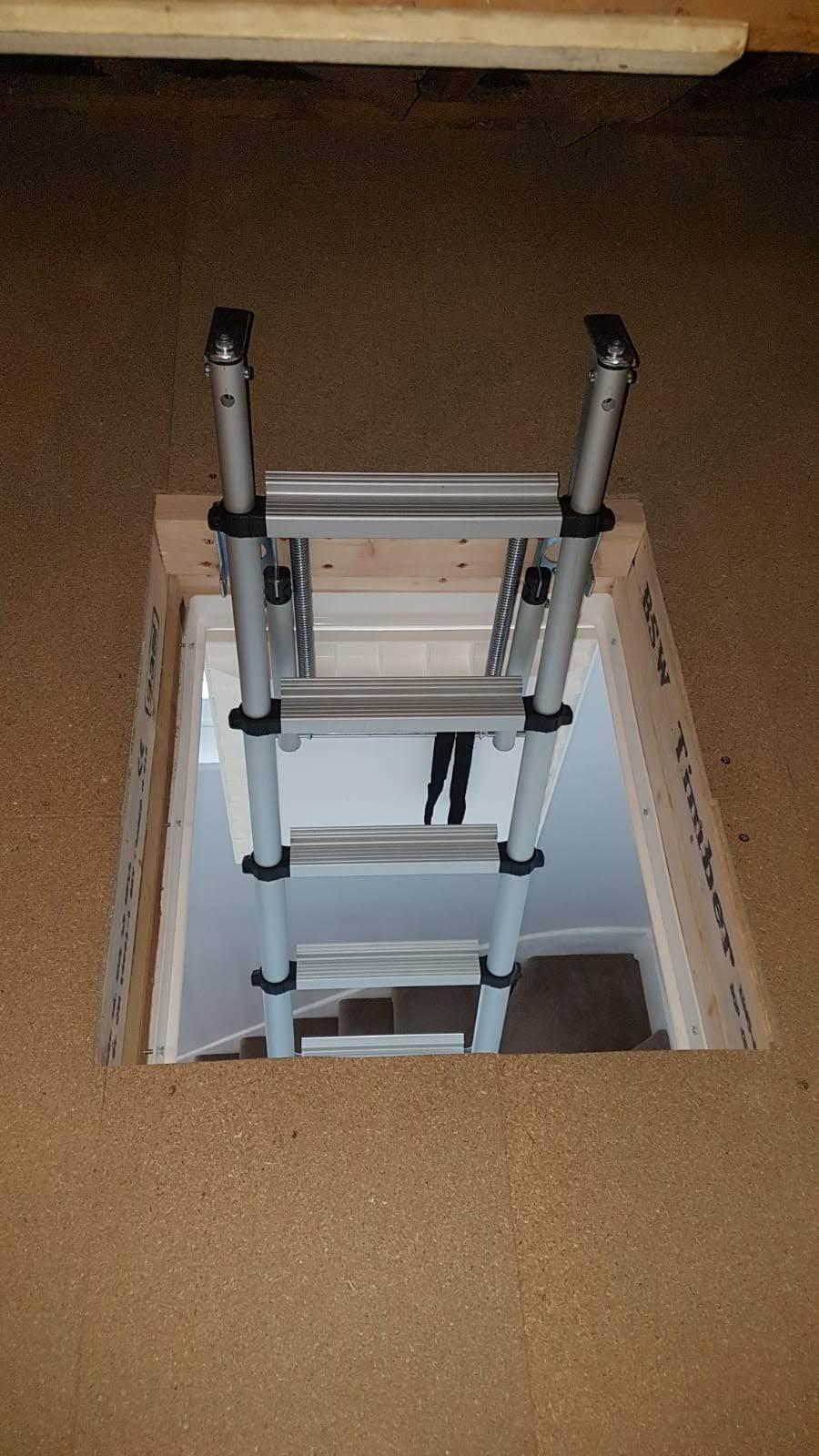 Telescopic Loft Ladder Installation Home Counties Loft